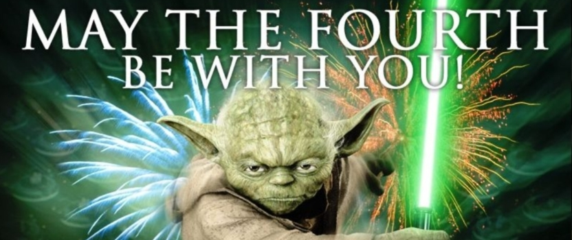 """May the 4th be with you"" – La Maratona"